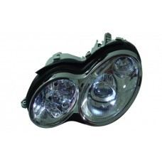 W203 Head Lamp Rim W/ Light Point