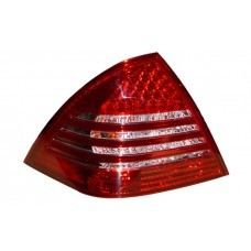 W203 Rear Lamp Crystal LED Red/Clear