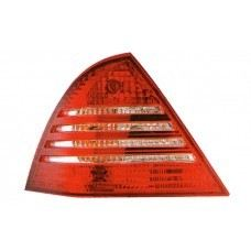 W203 05 Rear Lamp Crystal Red/Clear