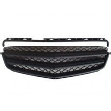 W204-FG05  Bra Look Sport Grille All Black ( 2 pcs type )