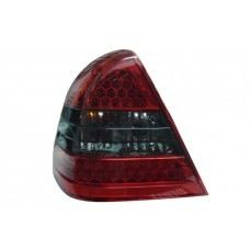 W202 Rear Lamp Crystal LED Red/Smoke
