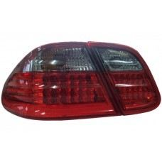 W208 Rear Lamp Crystal LED Smoke/Red