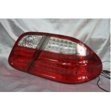 W208 Rear Lamp Crystal LED Red/Clear