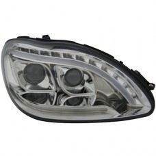 W220 98 Head Lamp Projector W/LED+Light Bar