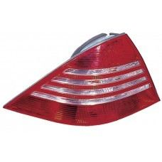 W220 Rear Lamp Crystal Red/Clear
