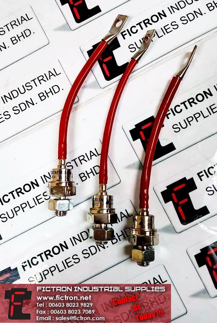 SKN 100/12 SEMIKRON Power Stud Diode 1200V VRRM 100A IFAV Power Diode Supply Malaysia Singapore Thailand Indonesia Europe & USA SEMIKRON  Diode