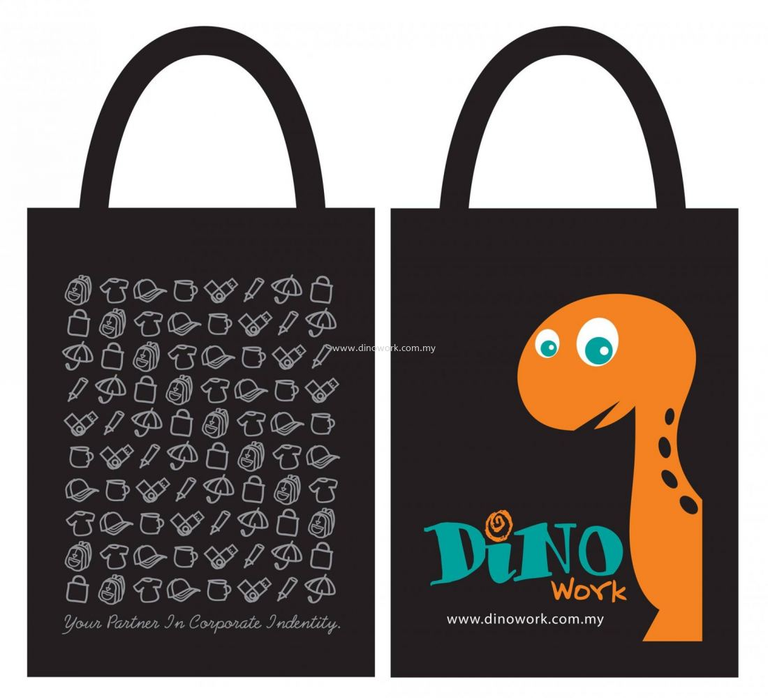 Get 1 FREE Dino Work's limited edition shopping bag when join the Charity Run 4 Fund 2017