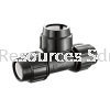 PP Equal Tee PP Compression Fitting Water Distribution