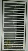 Mild Steel S Design Door -M.S 1x1 ,6/8x1 1/2 Hollow & 1 inchi Flat Bar  Mild Steel Door and Window Door and Window