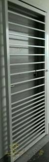 Mild Steel Sliding Door - 3 inch/2 inchi Hollow Design Mild Steel Door and Window Door and Window
