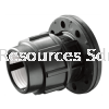 PP Flange Adaptor PP Compression Fitting Water Distribution