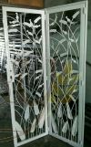 Wrought Iron Door - W.I R9,Padi, Leaf,Bird Wrought Iron Door and Window Door and Window