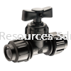 PP Compression Stop Tap  PP Compression Fitting Water Distribution