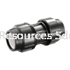 PP Straight Coupler PP Compression Fitting Water Distribution