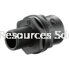 PP Tank Connector PP Compression Fitting Water Distribution