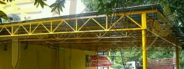 Mild Steel Metal Deck Awning  Mild Steel Metal Deck Awning Awning