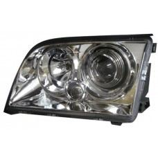 W140 Head Lamp Crystal Projector W/Vacuum