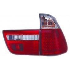 E53 00 Rear Lamp Crystal LED Clear/Red