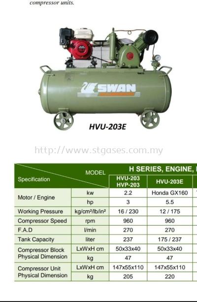 HVU-203E��237L��AIR COMPRESSOR