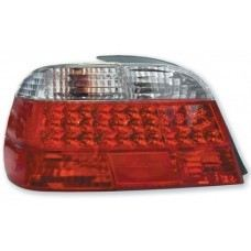 Rear Lamp Crystal LED Clear/Red