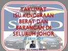 Taklimat Isu Kenderaan Berat Dan Barangan Seluruh Johor