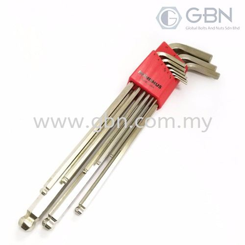 Ball End L-Wrenches Tools & Equipments