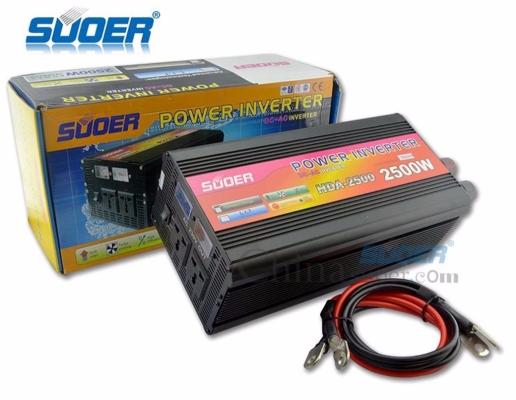 Suoer High Frequency 24V 2500W Solar Power Inverter (HDA-2500B)
