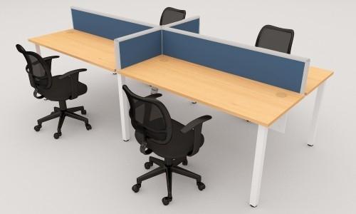 DESKING PARTITION 4 SEATERS OFFICE DESKING SYSTEM OFFICE WORKSTATION / OPEN PLAN PARTITION Malaysia, Selangor, Kuala Lumpur (KL), Semenyih Manufacturer, Supplier, Supply, Supplies | IOS Office Systems Sdn Bhd