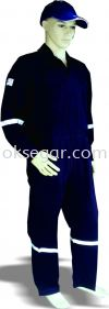 Coverall c/w Reflector Factory Uniform