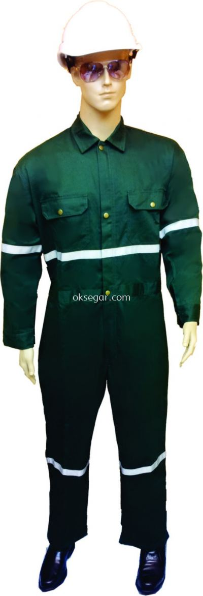 Coverall Dark Green