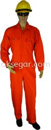 Nomex Coverall Orange Factory Uniform