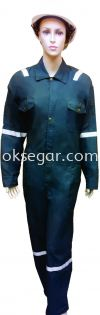 NOMEX® Coverall Dark Green Factory Uniform