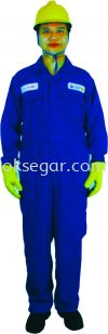 NOMEX® Coverall Royal Blue & Navy Blue Factory Uniform