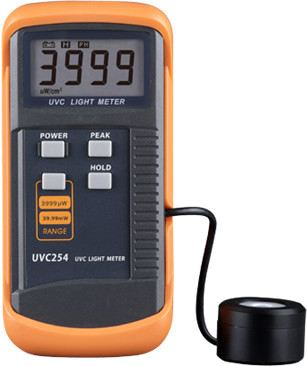 Digital UVC Light Meter UVC254