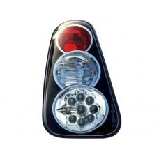 Cooper S R53 Mk I`02 Rear Lamp Crystal LED Black..