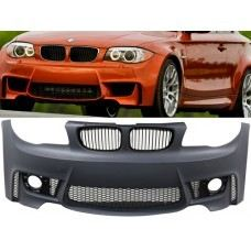 E87 1m Style Front Bumper PP W/ Fog Lamp Cover