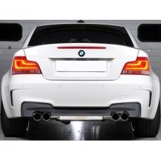 E87 1M Style Rear Bumper PP W/Quad Outlet