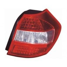 E87 Rear Lamp Crystal LED Red/Clear