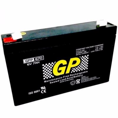 Sealed Lead Acid Battery 6V 7AH GPP670