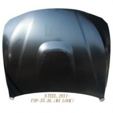 F36 Engine Hood M4 Look Steel