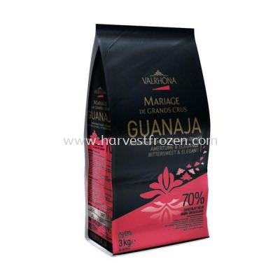 Valrhona Guanaja Button (70%) 3kg pack