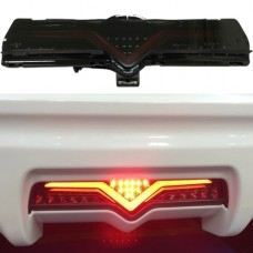 FT/GT 86 Rear Bumper Lamp W/LED + Light BarSmoke/Red Light Bar