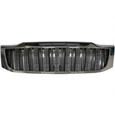 Hilux 12 Front Grille Prado Look Chrome/Grey
