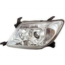 Hilux 04 Head Lamp Crystal Projector Chrome W/CCFL + LED