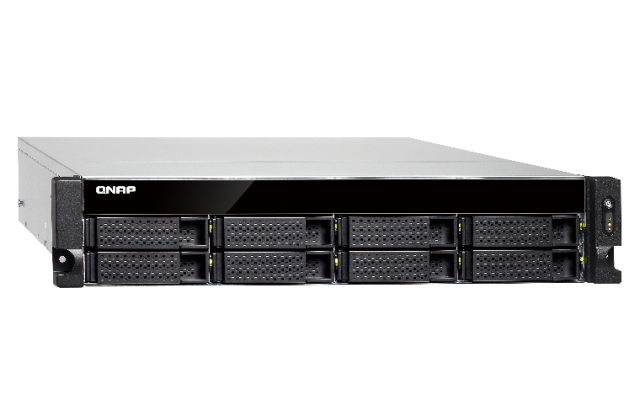 QNAP TS-863U-RP-4G 8-Bay 2U Rack (Business-Middle End)
