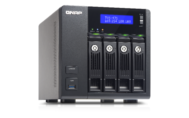 QNAP TVS-471-i3-4G 4-Bay Tower (Business-High End)
