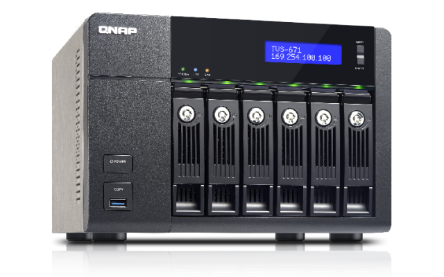 QNAP TVS-671-i3-4G 6-Bay Tower (Business-High End)