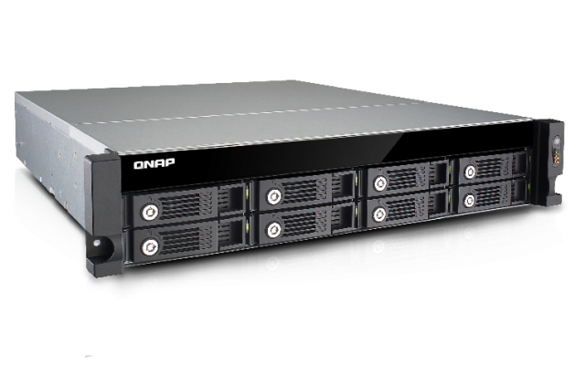 QNAP TVS-871U-RP-i3-4G 8-Bay 2U Rack (Business-High End)
