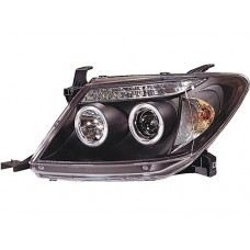 Hilux 04 Head Lamp Crystal Projector W/CCFL+LED..