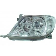 Hilux 04 Head Lamp Crystal Chrome Projector W/CCFL